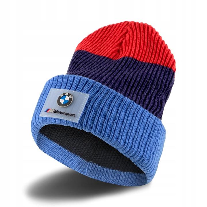New! 2021 BMW Motorsport Puma Beanie Blue Unisex Warm Hat Official Merchandise