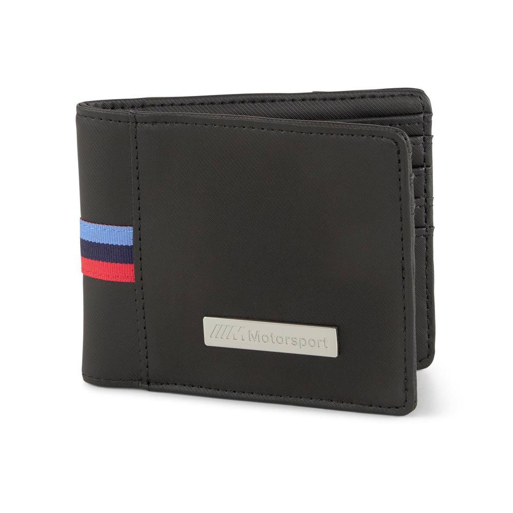 2021 BMW M Motorsport Wallet Money Holder Black Official Merchandise by PUMA