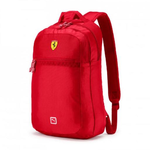 New! 2021 Ferrari F1 Puma Race Backpack Rucksag Bag Red Official Merchandise