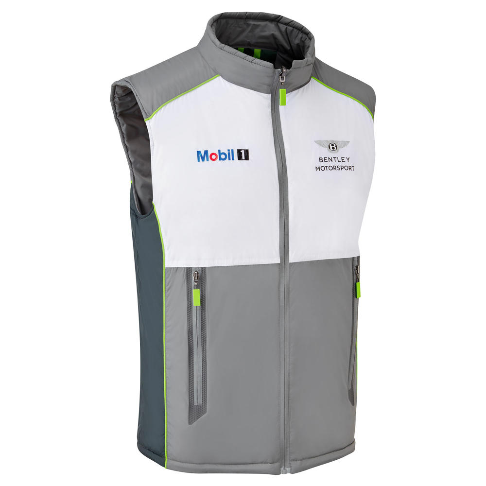 New! 2021 Bentley Motorsport GT3 Mens Team Gilet Bodywarmer Official Jacket