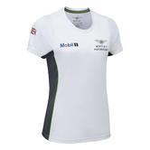 New! 2021 Bentley Motorsport GT3 Ladies Team T-Shirt Tee White in Womens Sizes