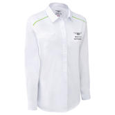 New! 2021 Bentley Motorsport GT3 Official Ladies Team Shirt in White Womens Size