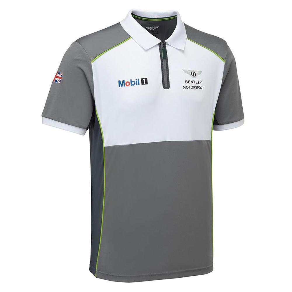 New! 2021 Bentley Motorsport GT3 Team Polo Shirt Mens Official Race Merchandise