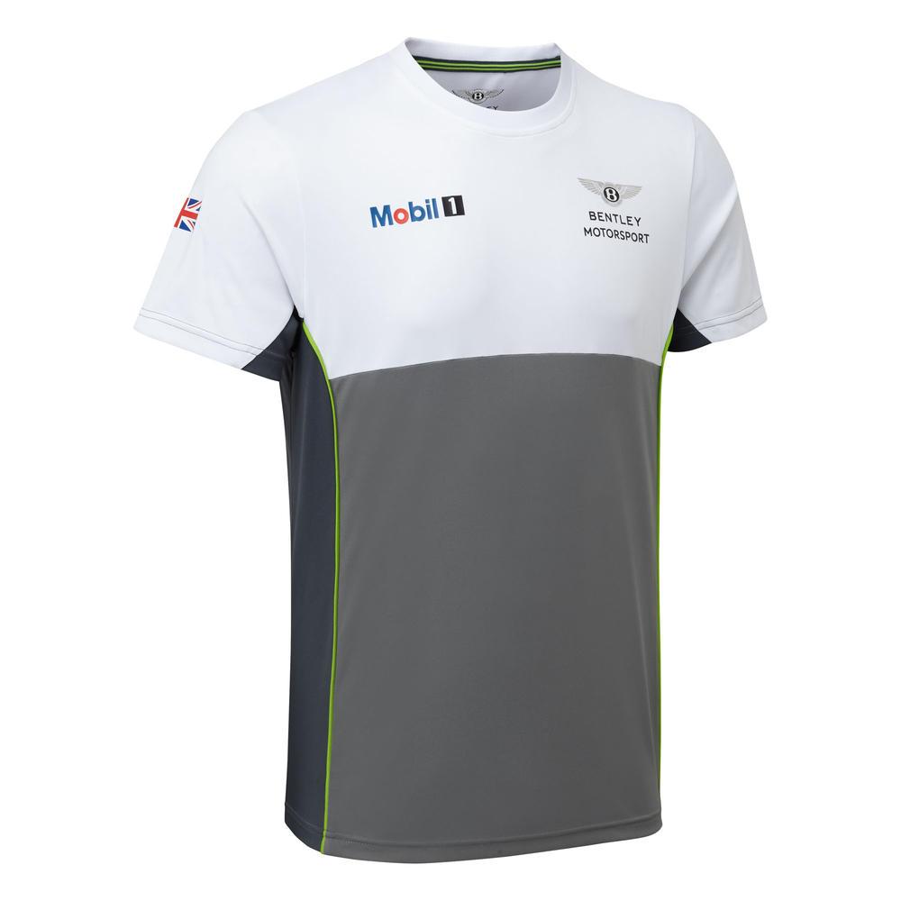 New! 2021 Bentley Motorsport GT3 Team T Shirt Mens Official Racing Merchandise