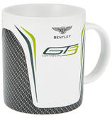 New! 2021 Bentley Motorsport GT3 Coffee Mug Carbon Style Official Merchandise