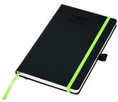 New! 2021 Bentley Motorsport A5 Notebook Black Writing Pad in Official Gift Box