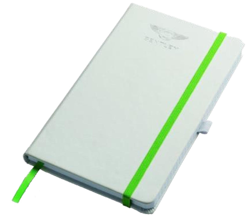 New! 2021 Bentley Motorsport Official Notebook Writing Pad A5 in White Gift Box