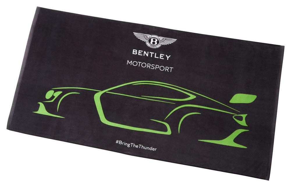 New! Bentley Motorsport GT3 Team Towel Official Merchandise Size 145cm x 76cm