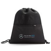 New! 2021 Mercedes EQ Formula E Team Drawstring Bag Official Race Merchandise