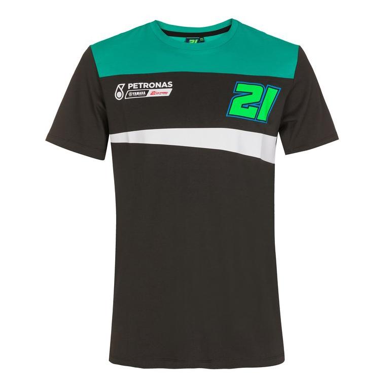 2021 Franco Morbidelli Petronas Yamaha Mens T-Shirt Official MotoGP Merchandise