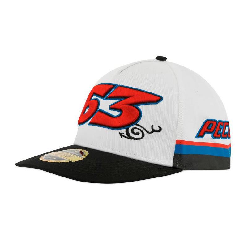 2021 Francesco Bagnaia Mid Visor Baseball Cap #63 Pecco MotoGP Merchandise