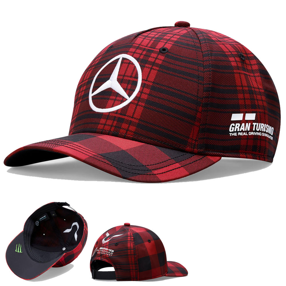 New! 2021 Lewis Hamilton French GP Red Cap Canada Grand Prix Special Edition