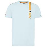 2021 Mclaren FW Gulf Racing Mens Stripe T-Shirt Tee Official Merchandise
