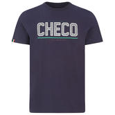 2021 Sergio Perez CHECO T-Shirt Navy Tee Official Red Bull F1 Team Merchandise