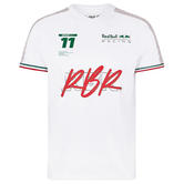 2021 Sergio Perez #11 F1 Fanwear T-Shirt Red Bull Racing Official Merchandise