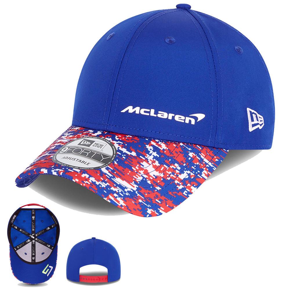 New! Mclaren Lando Norris 2021 F1 British GP Cap NEW ERA Blue Special Edition