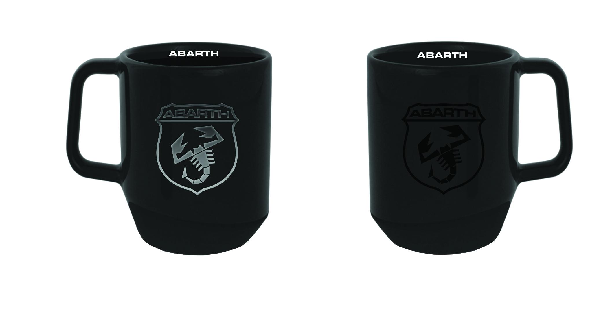 New! 2021 Fiat Abarth Corse Black Heat Sensitive Mug Official Team Merchandise