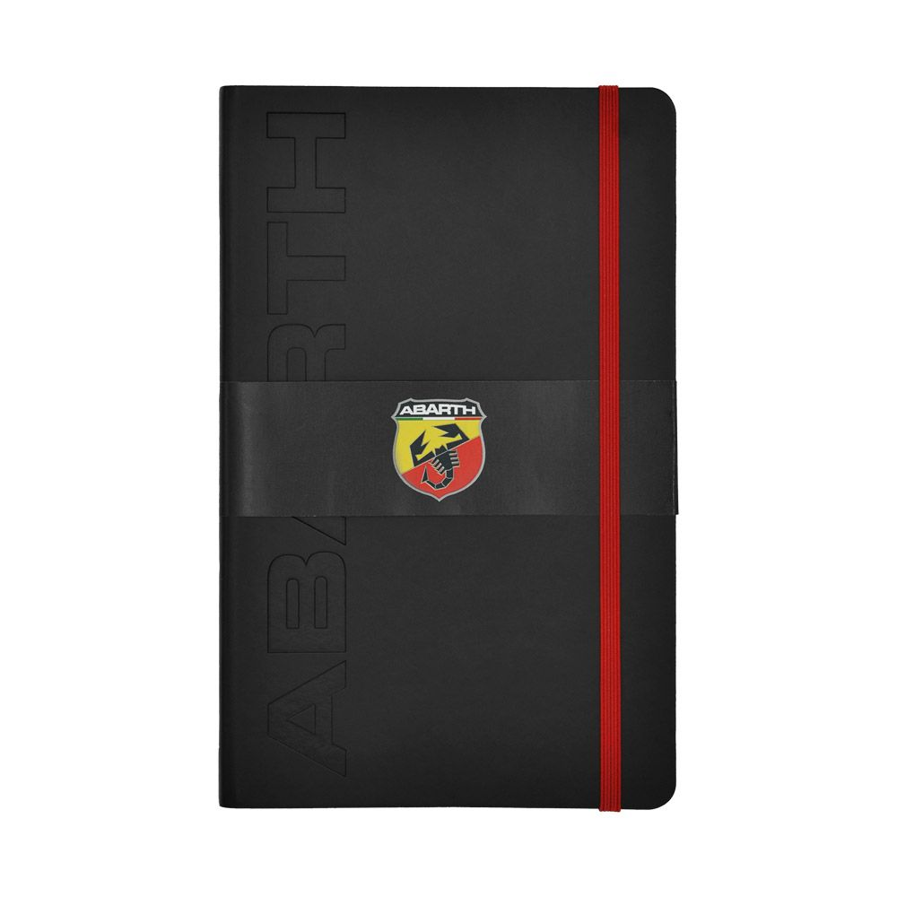 2021 Abarth Corse Black Notebook Official Merchandise