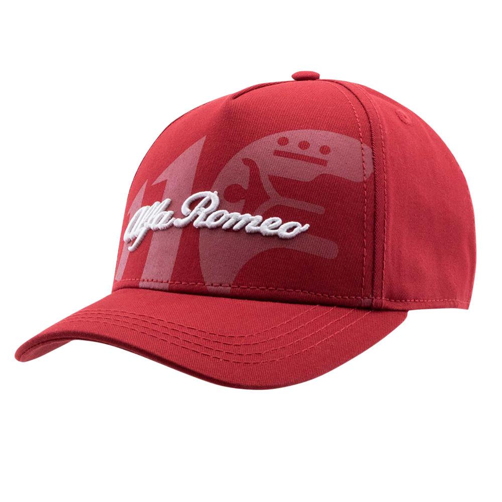 2021 Alfa Romeo Racing Team Baseball Cap Classy Red Hat Official Merchandise