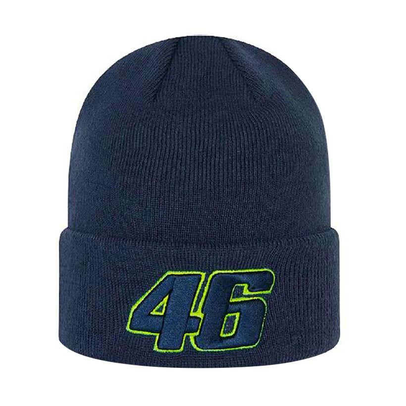 2021 NEW ERA Valentino Rossi VR46 Core Cuff Knit Beanie Blue Official Hat