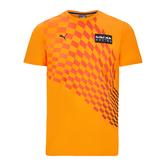 New! 2021 Max Verstappen #33 Orange T Shirt Official Red Bull Racing F1 Team