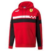 New! 2021 Scuderia Ferrari F1 Puma SDS Mens Hoodie Hoody Top in Rosso Corsa