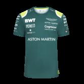 2021 Aston Martin F1 Team Sponsor Kids T-Shirt Children Tee Official Merchandise