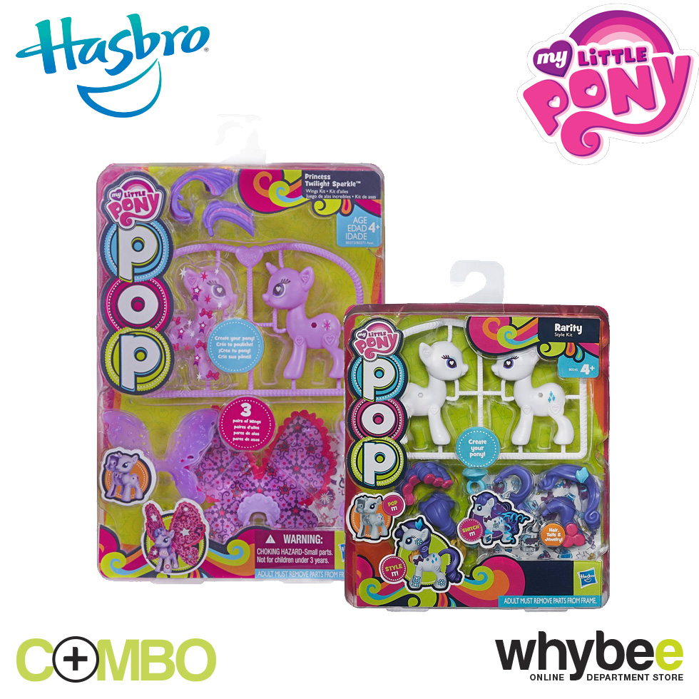 My Little Pony Rarity Style Kit And Princess Twilight Sparkle Wings Kit Ebay