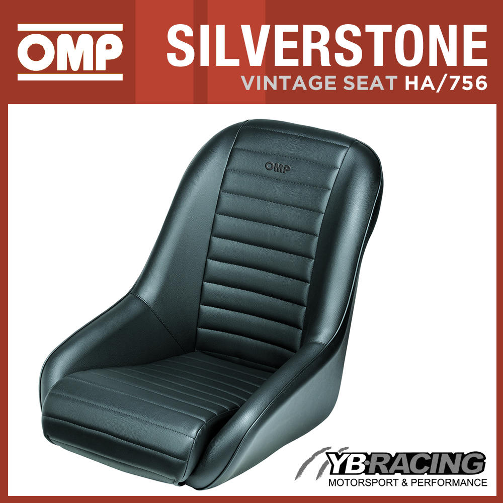 N OMP \'SILVERSTONE\' RETRO RACING SEAT CLASSIC VINTAGE RACE or ROAD ...