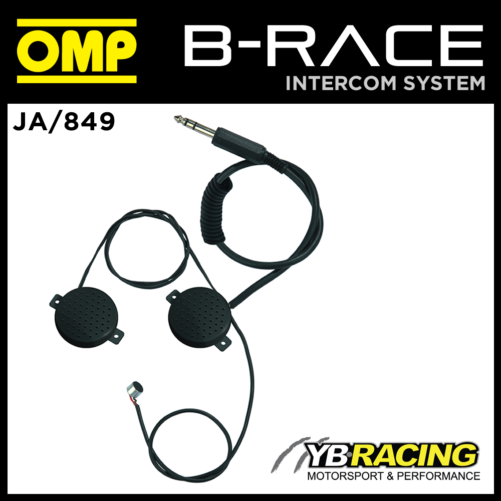 JA/849 OMP INTERCOM MICROPHONE KIT FOR 1 HELMET USE WITH OMP JA/848 CONTROL  BOX