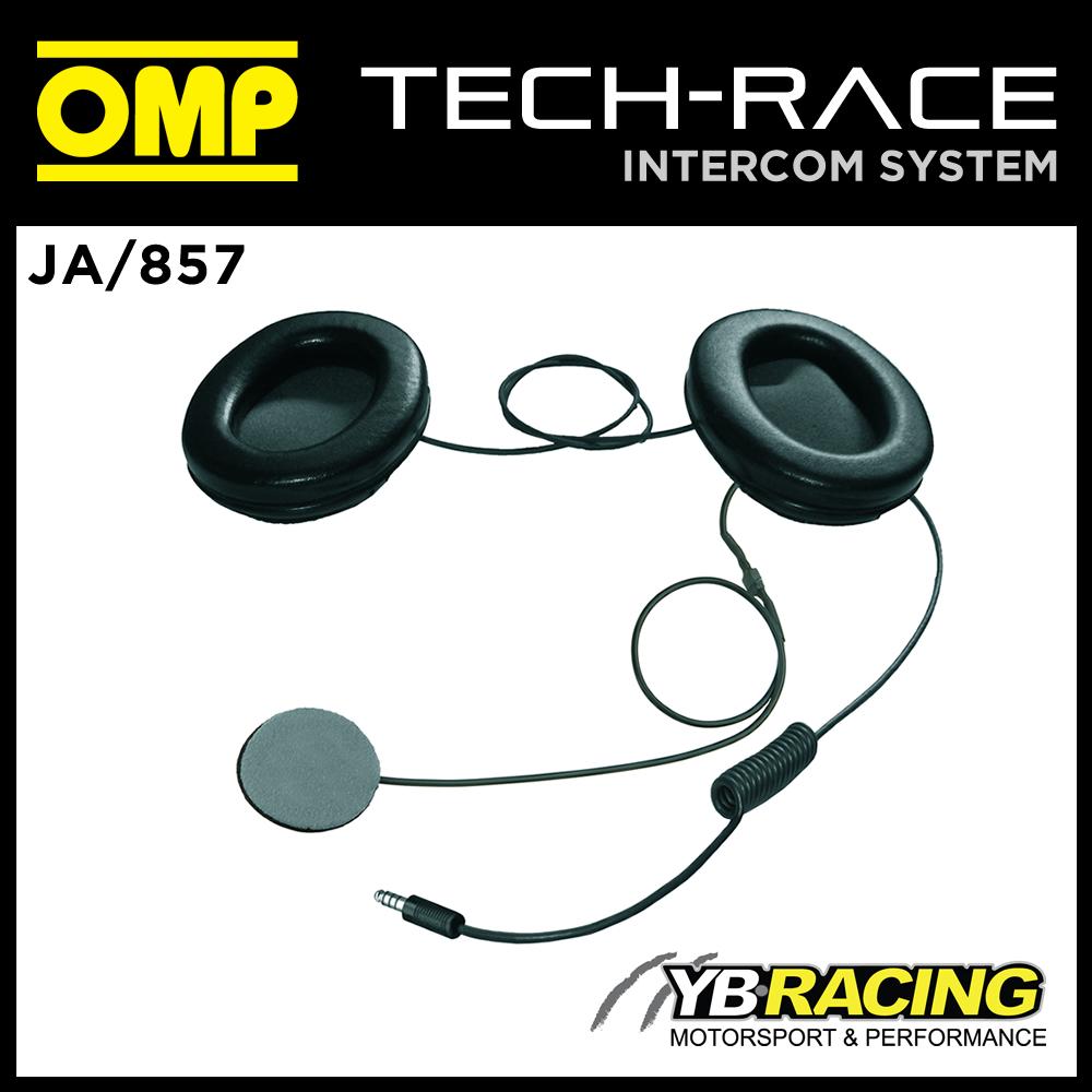JA/857 OMP INTERCOM MICROPHONE KIT FOR FULL FACE HELMET OMP JA/856E  TECH-RACE