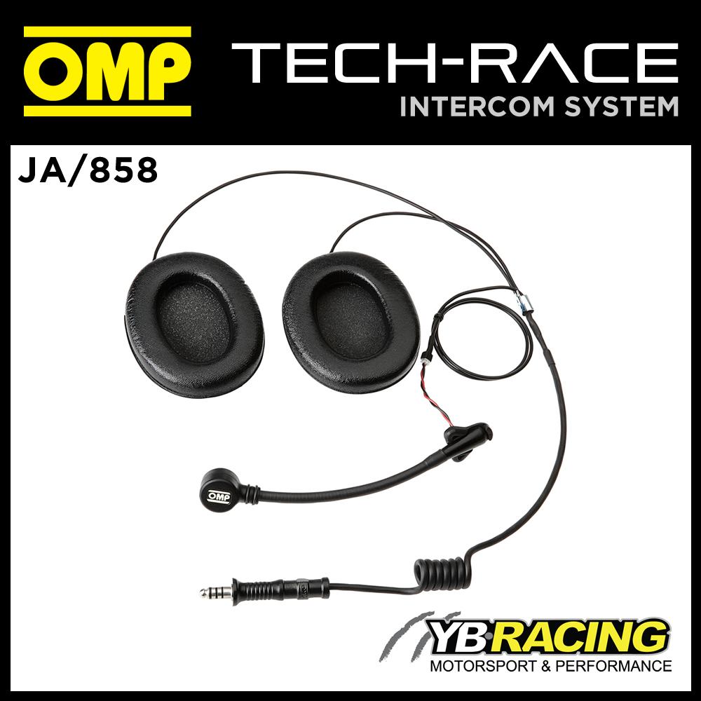 JA/858 OMP INTERCOM MICROPHONE KIT FOR OPEN FACE HELMET OMP JA/856E  TECH-RACE