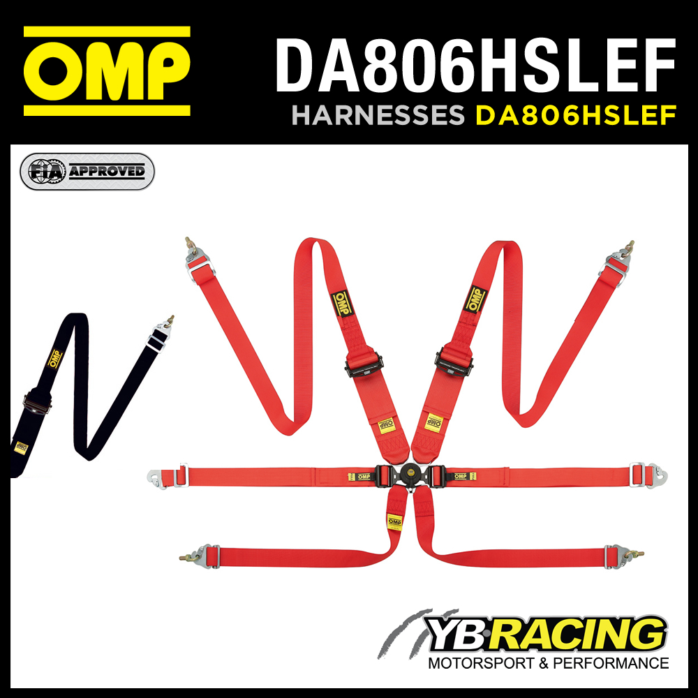 Da806hslef Omp 806 Hslef Racing Harness 6
