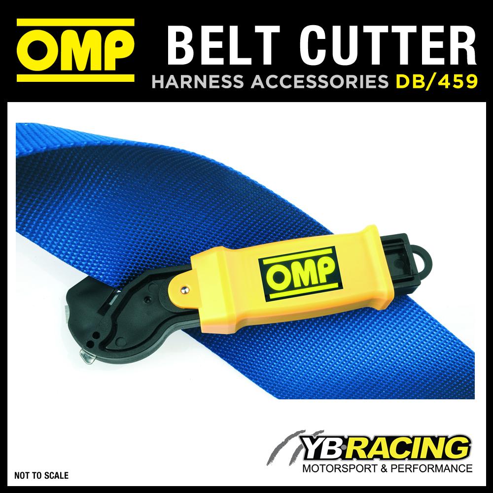 DB/459 OMP RACING HARNESS SEAT BELT SAFETY CUTTER TOOL - CUTS HARNESS