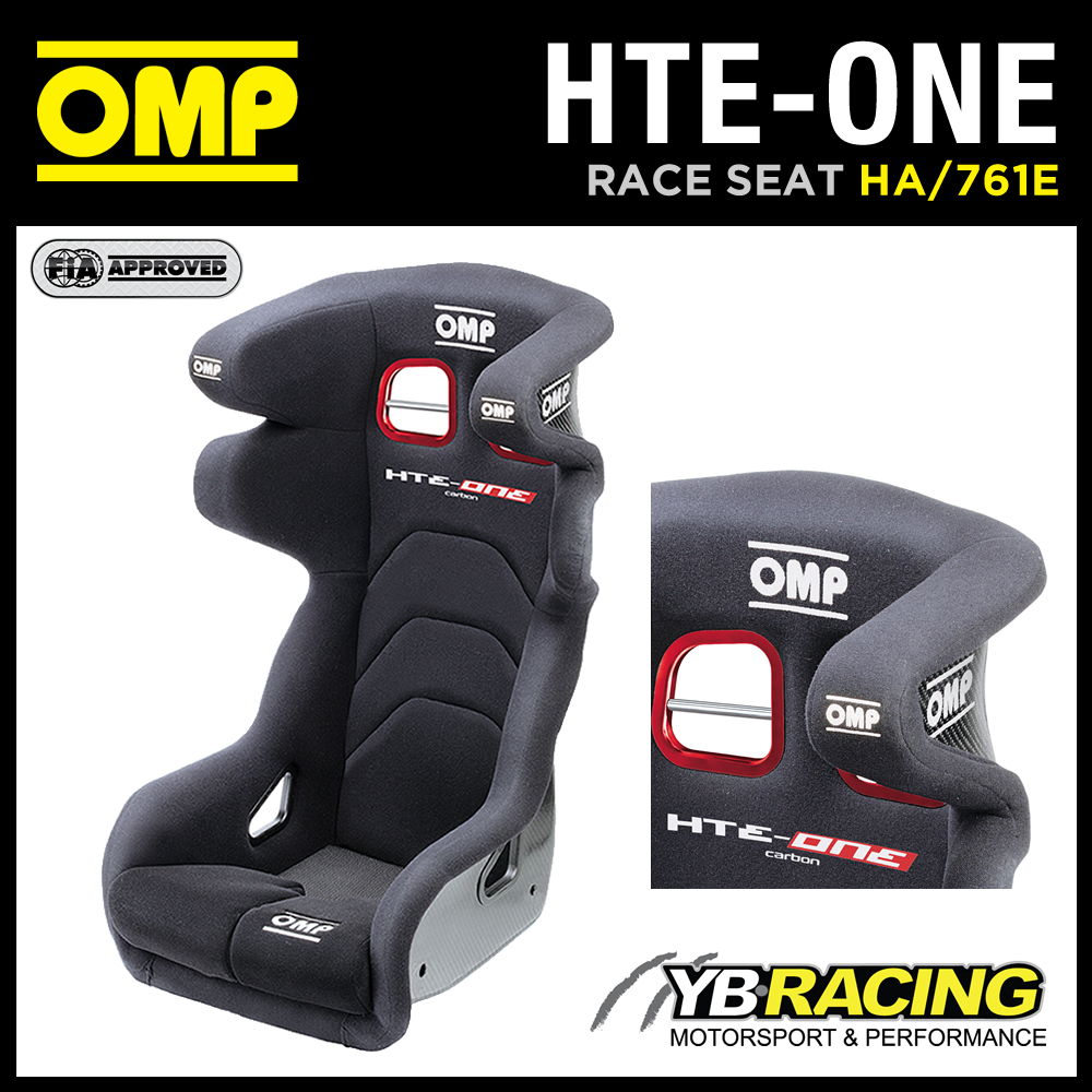 "HA/761E OMP ""HTE-ONE"" PROFESSIONAL RACING SEAT - MADE TO FORMULA 1 SAFETY LEVEL!"