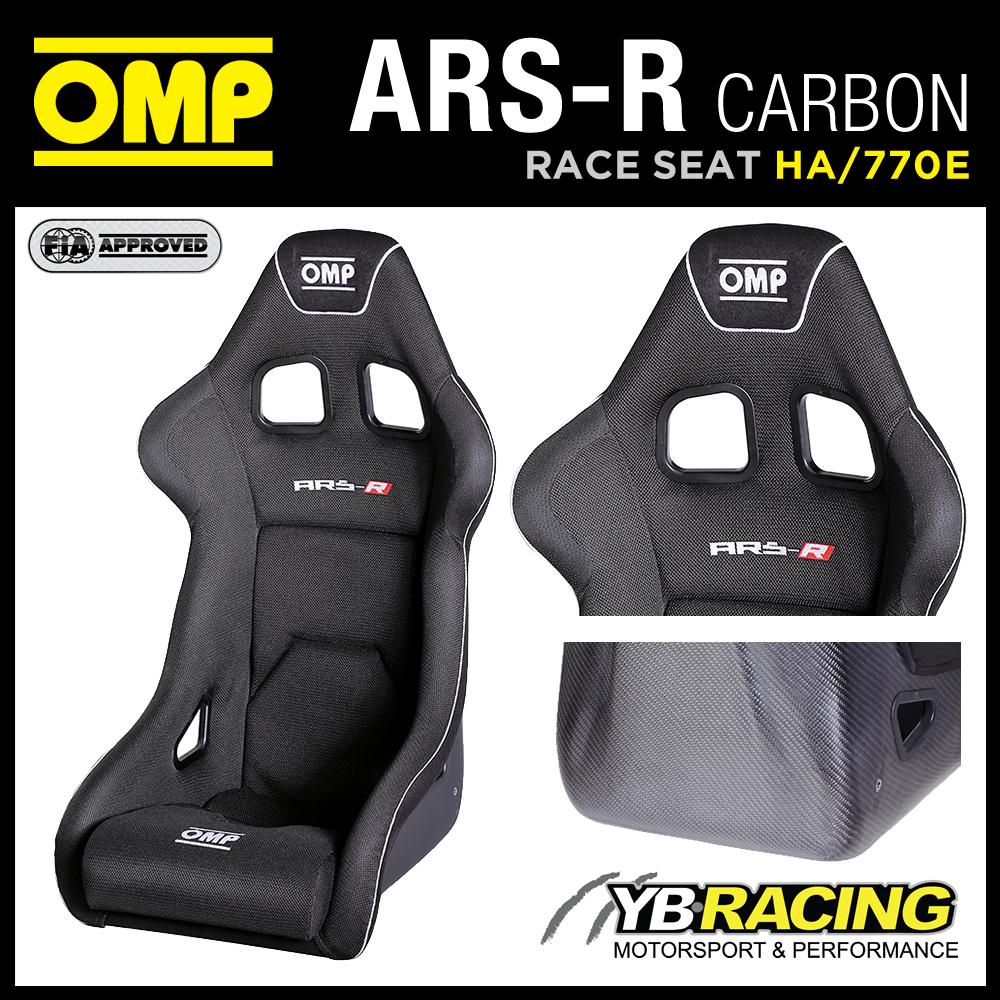 """HA/770E OMP """"ARS-R CARBON"""" RACE SEAT LIGHTWEIGHT CARBON FIBRE MOULDED AUTOCLAVE"""
