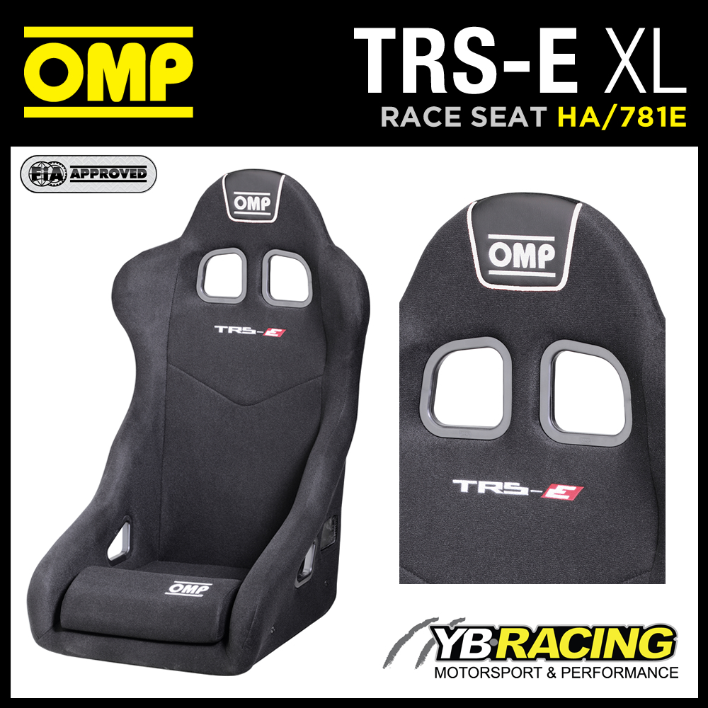 "HA/781E OMP ""TRS-E XL"" SEAT SPECIAL EXTRA LARGE VERSION for BIGGER DRIVERS!"
