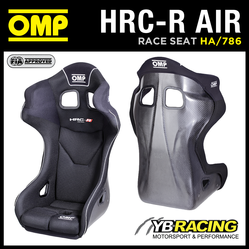 NEW! HA/786 OMP HRC-R AIR CARBON FIBRE RACE SEAT PRE-DRILLED FOR AIR COOLING!
