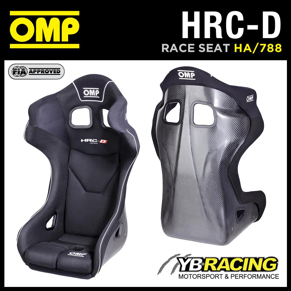 NEW! HA/788 OMP HRC-R CARBON FIBRE RACE SEAT STREAMLINE DESIGN FOR GT RACE CARS