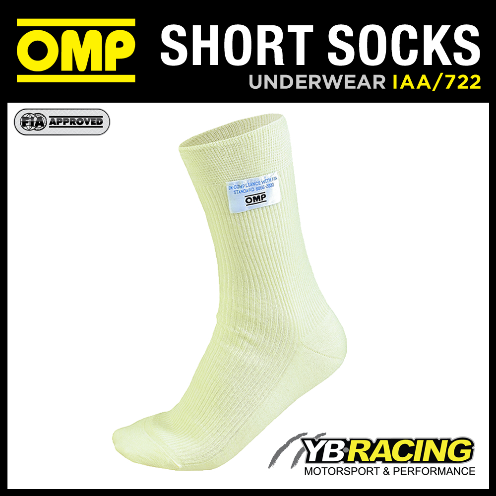 IAA/722 OMP CREAM SHORT SOCKS