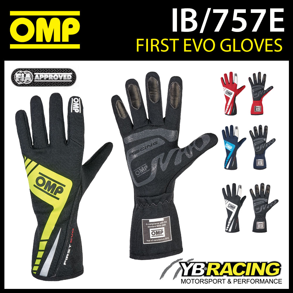 IB/757E OMP 2016 FIRST EVO GLOVES