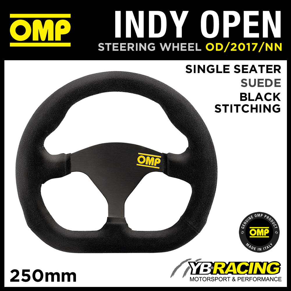 OD/2017/NN OMP INDY OPEN RACING STEERING WHEEL 250x170mm RACING SINGLE SEATER