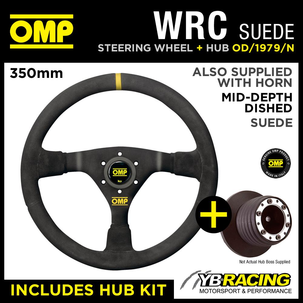 VW GOLF MK3 GTi (25mm) 91-98 OMP WRC 350mm MID-DEPTH STEERING WHEEL & HUB KIT