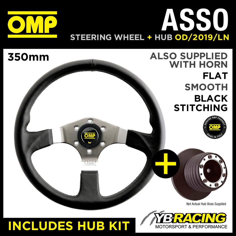 OMP ASSO STEERING WHEEL OD/2019/LN & HUB COMBO VW GOLF MK3 GTi (25mm) 91-98