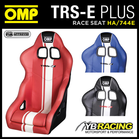 HA/744E OMP TRS-E PLUS RACE RALLY BUCKET SEAT VINYL STRIPES in 3 COLOURS