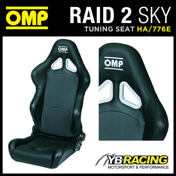 HA/776E/N OMP 'RAID 2 SKY' RECLINABLE SEAT OFF-ROAD USE OMP WASHABLE FABRIC