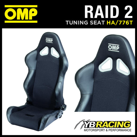 HA/776T OMP RAID 2 RECLINABLE SEAT OFF-ROAD USE made in BREATHABLE FABRIC!