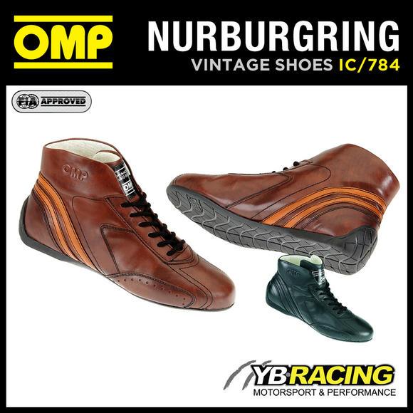 IC/784 OMP NURBURGRING VINTAGE BOOTS