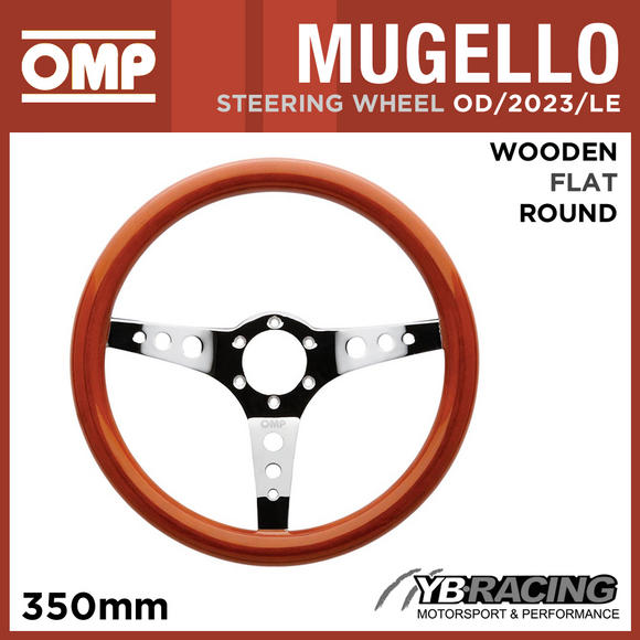 OD/2023/LE OMP MUGELLO STEERING WHEEL 350mm for CLASSIC CAR RETRO VINTAGE