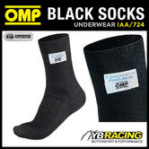 IAA/724 OMP BLACK SHORT SOCKS